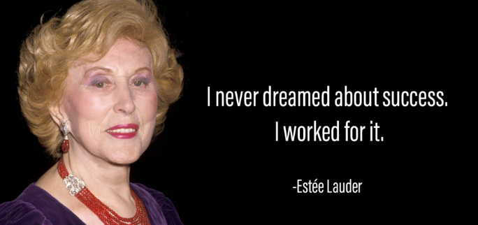 [Image] I NEVER dreamed about success, I worked for it!!!