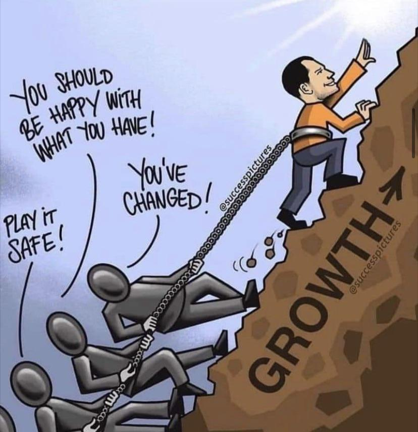 [Image] Growth Is Like Resistance Training