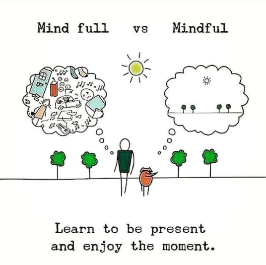 [Image] Never forget to be present and enjoy the moment.