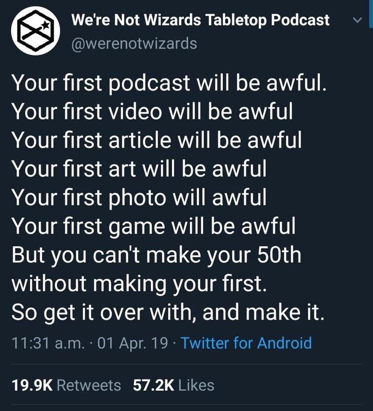 [Image] you gotta start from the first