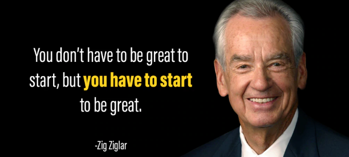 [Image] You Have To start!!!