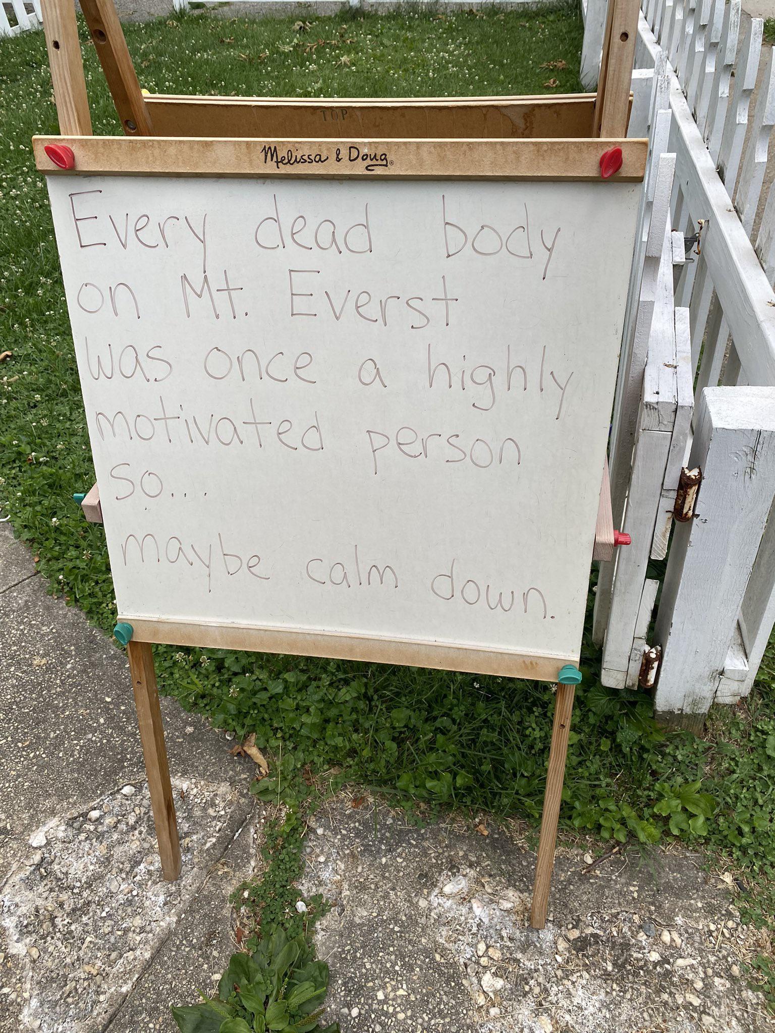 [image] Motivation from the neighborhood