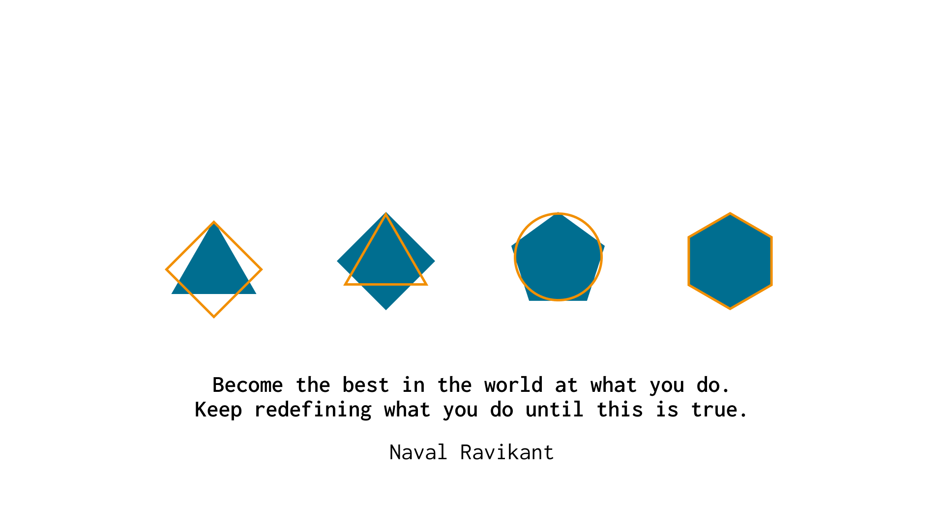 """""""Become the best in the world at what you do. Keep redefining what you do until this is true."""" -Naval Ravikant [1920×1080]"""