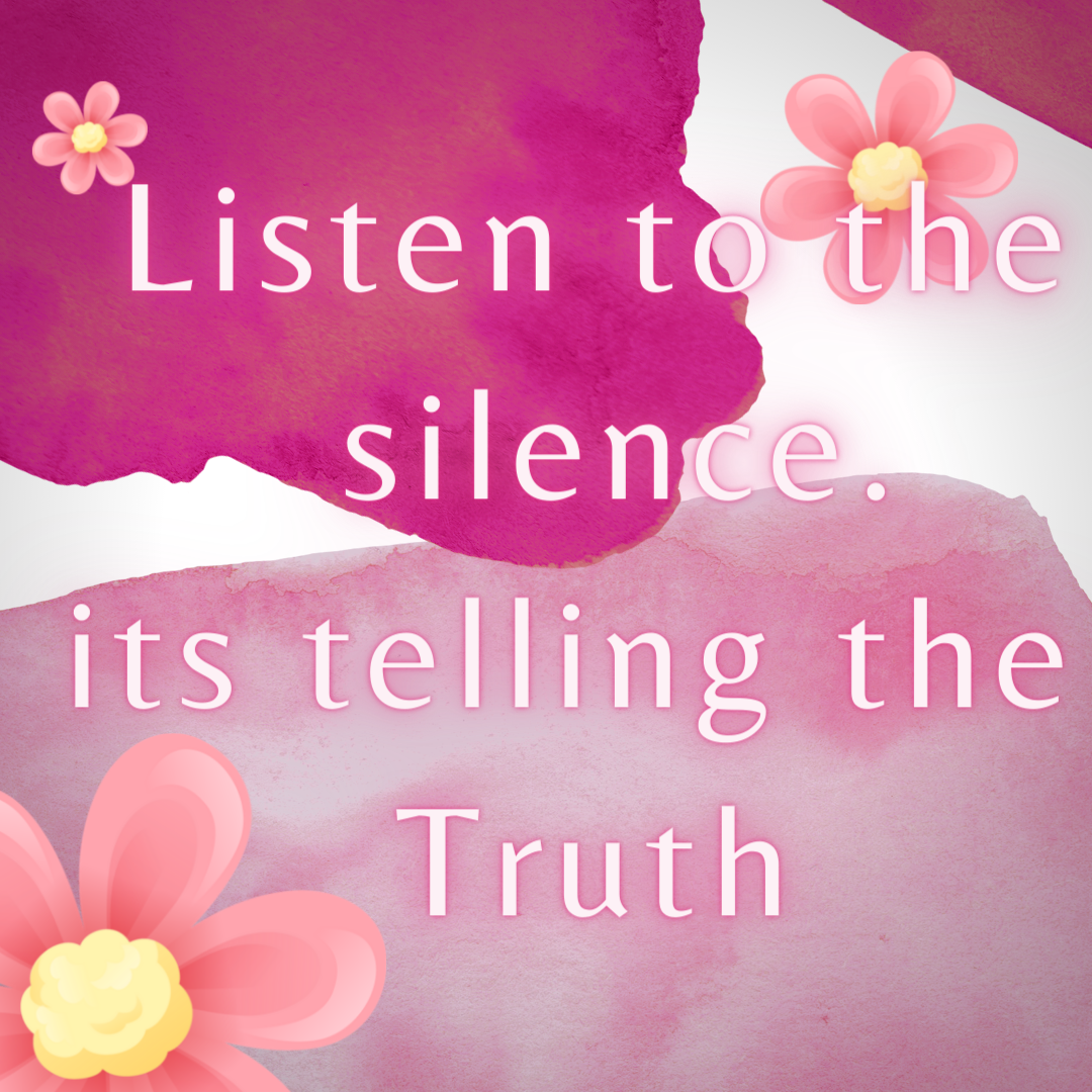#soulfeeds… silence is a language itself [1080×1080]