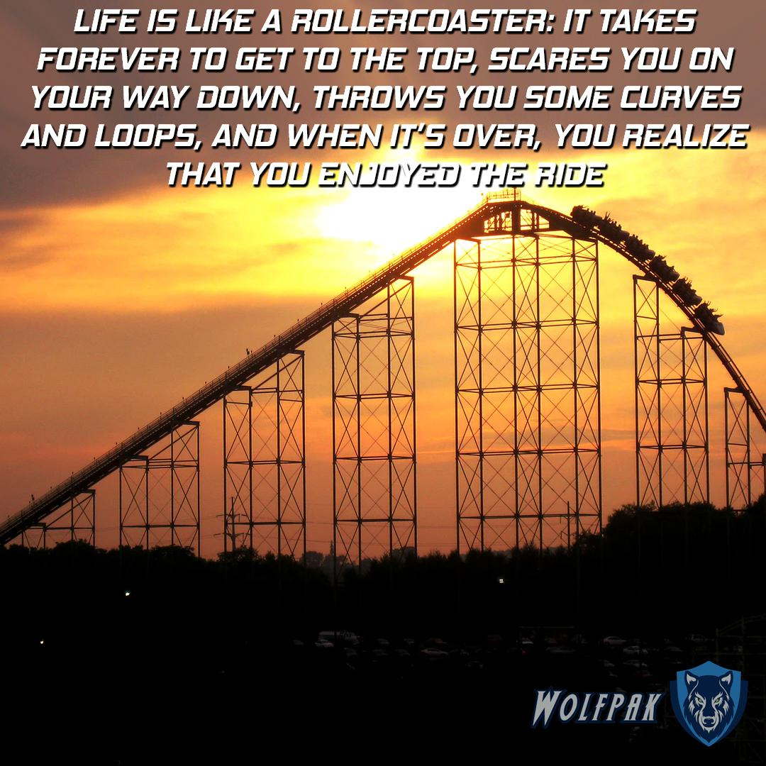 """LIFE IS LIKE A HDLLEHEDASTEH: IT TAKES FDHEVEH TD GE T TU THE TOP, SEAHEE YDU UN YDUFI WAY DDWN, THHD W5 YDU SOME EURVEE AND LDDF'S, AND WHEN . OVER, YOU HEALIZE THAT YOU """" Wolf/W https://inspirational.ly"""