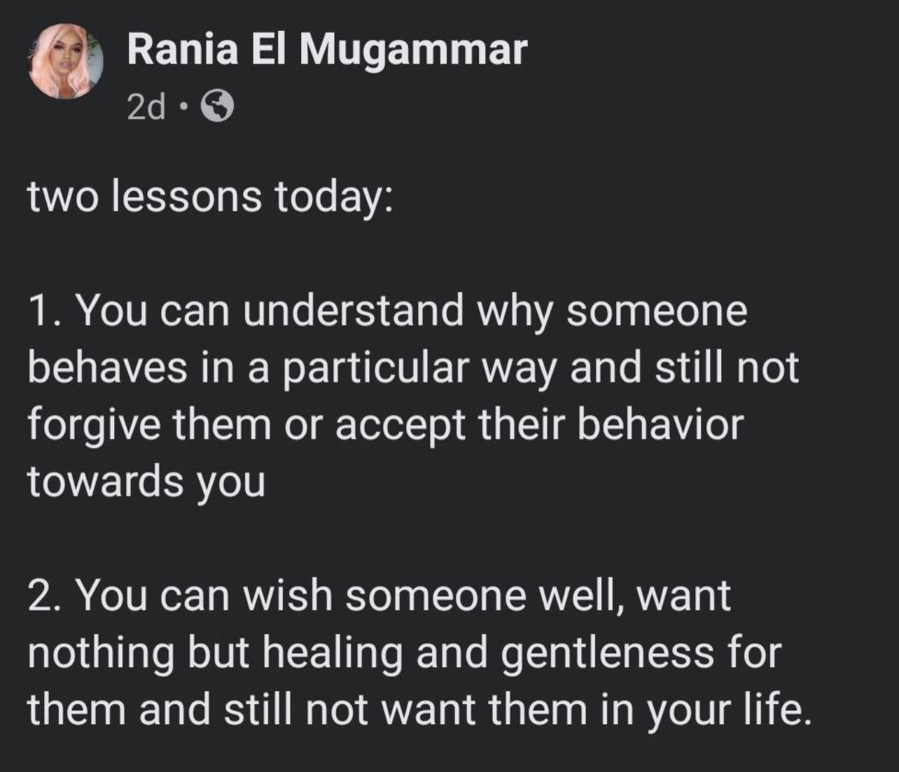 [IMAGE] Being kind and having boundaries are not mutually exclusive.