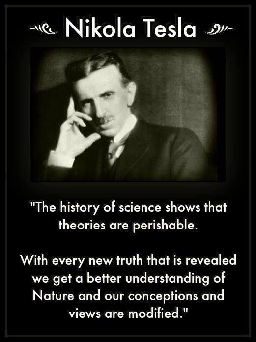 « The History Of Science Shows That Theories Are Perishable » [521×696]
