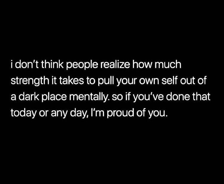 [Image] if you have done that , im proud of you!