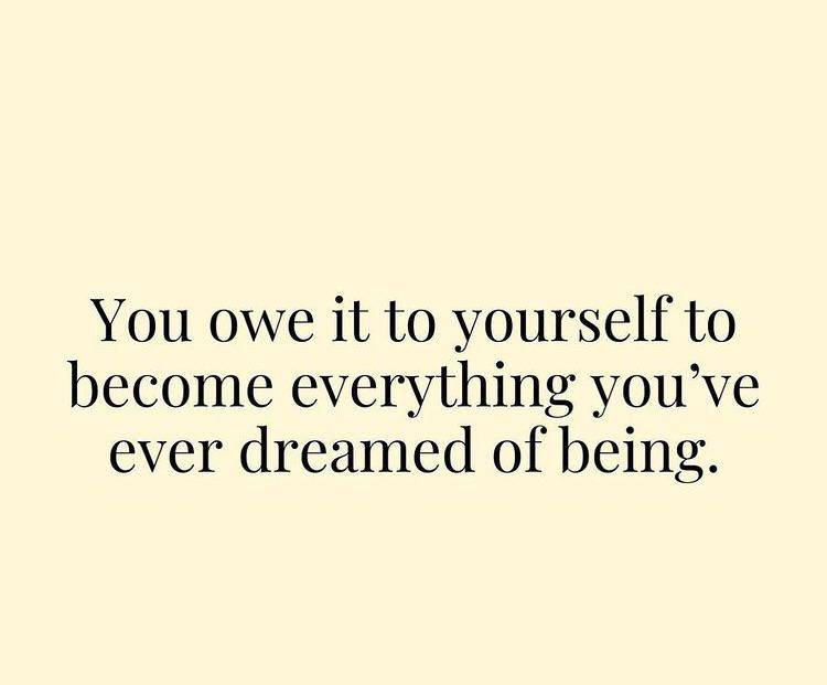 [Image] Everything you've ever wanted is yours to get.