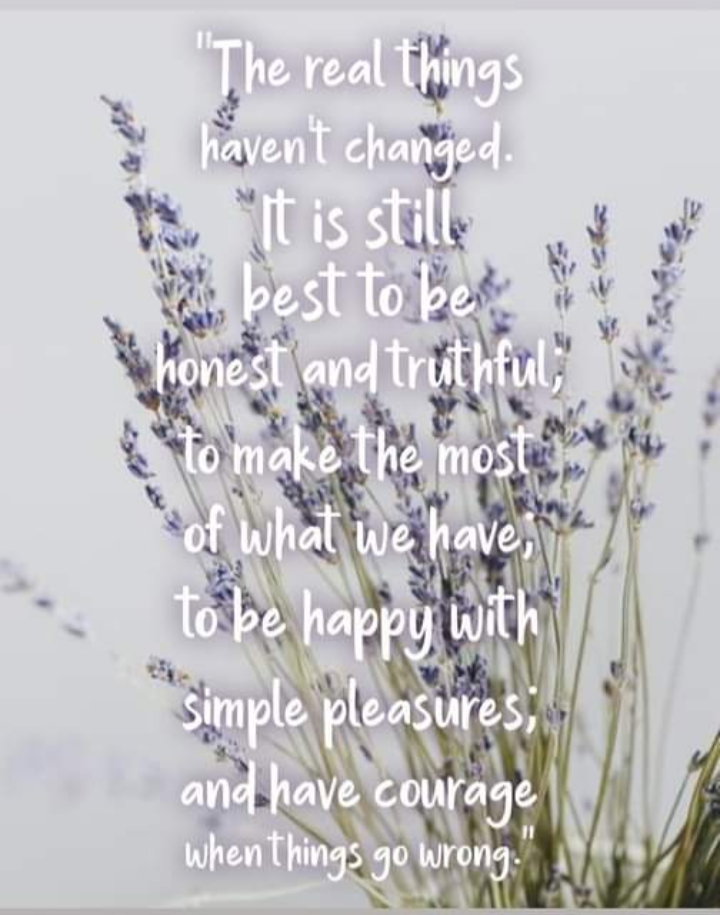 """""""The real things haven't changed…"""" -Laura Ingalls Wilder [720×915]"""