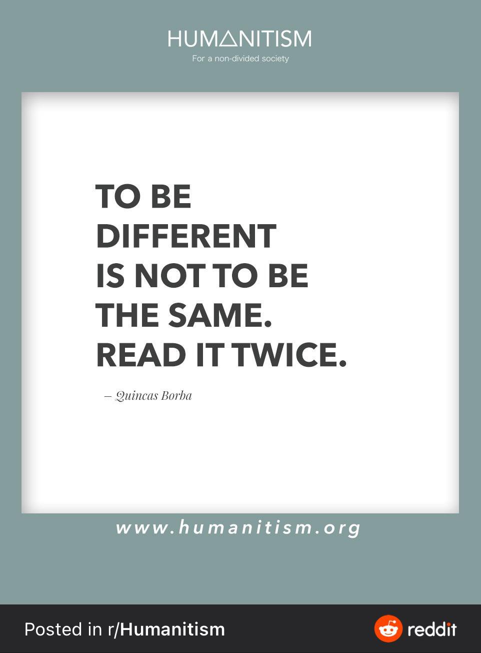 To be Different is not to be the same. [962 x 1208]