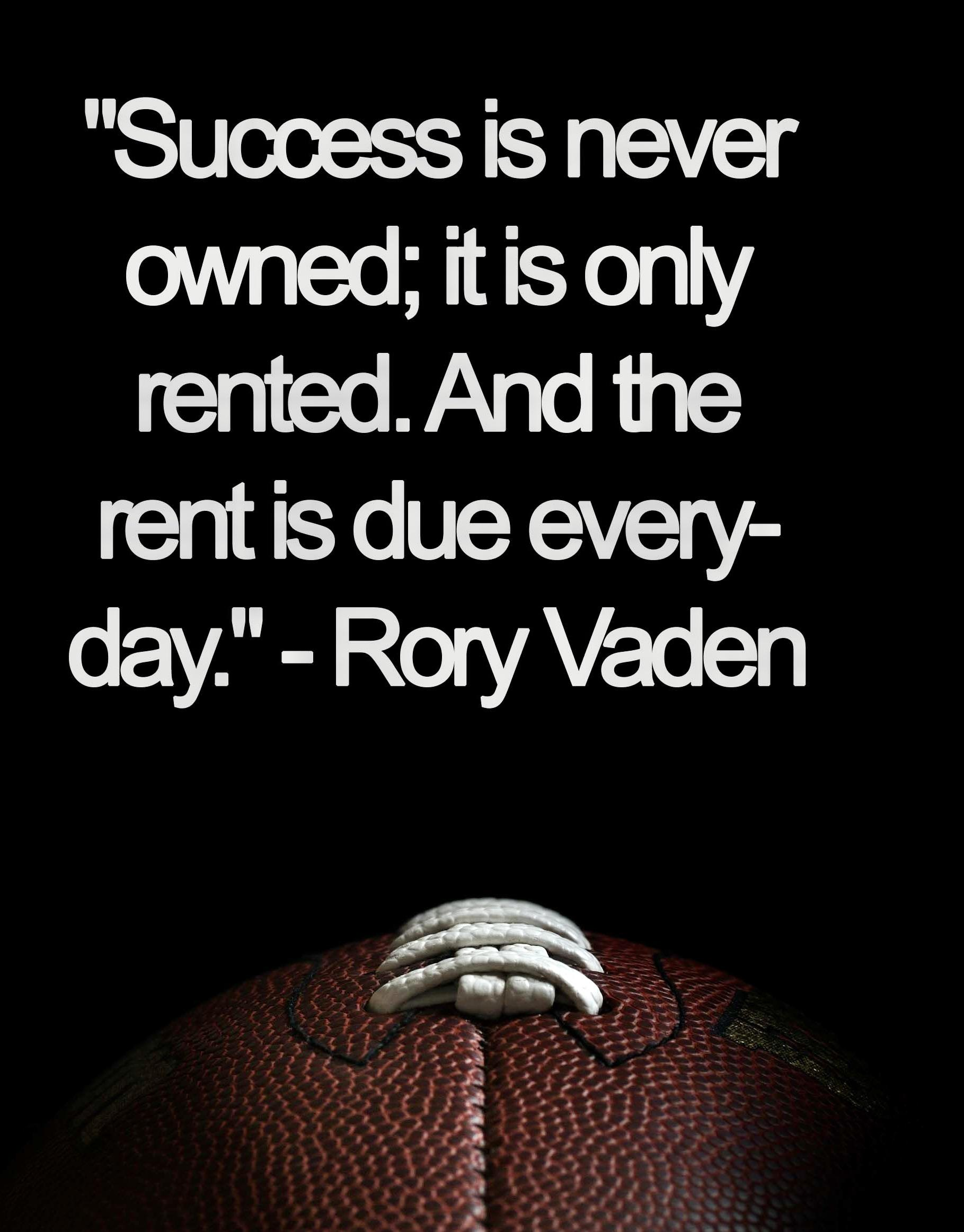 [Image] – Success is rented