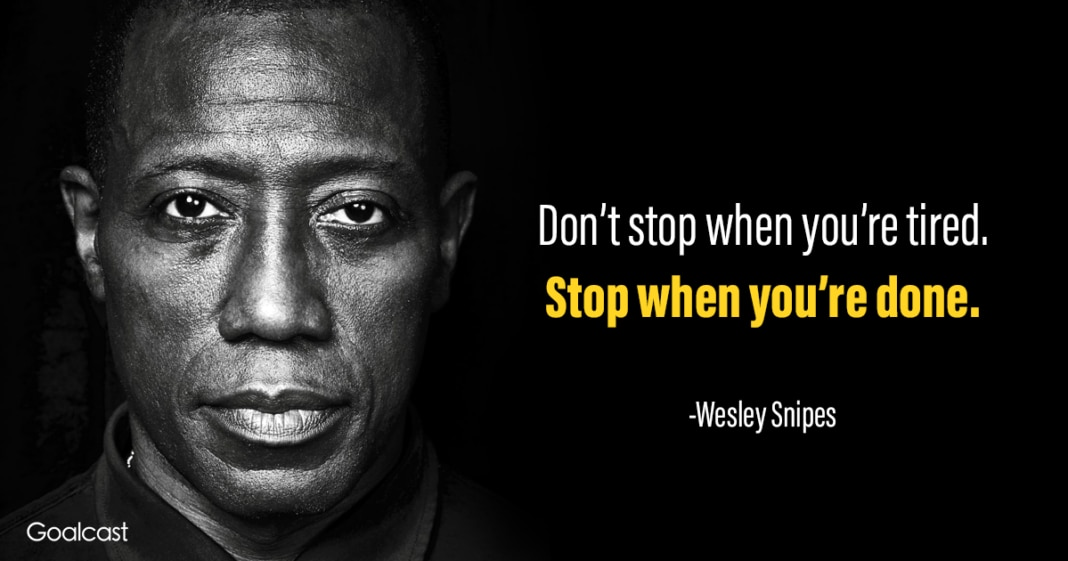 [Image] don't stop until you're done!