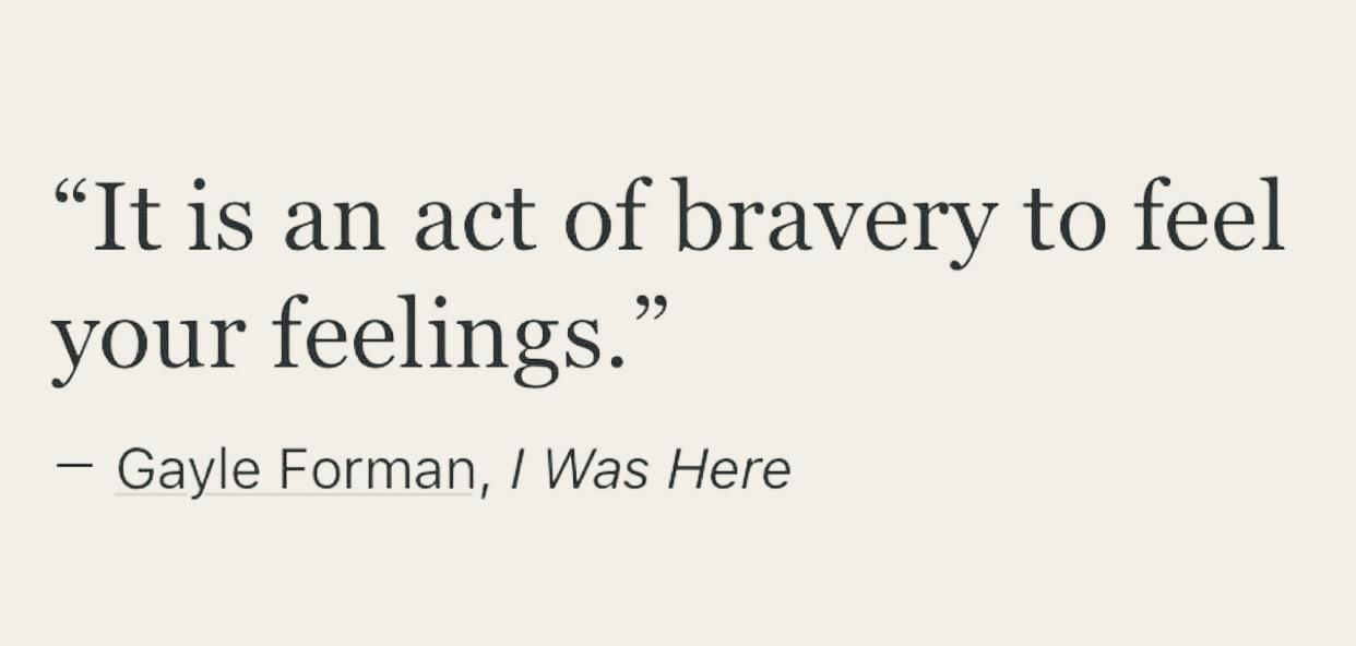 [Image] Brave and strong.