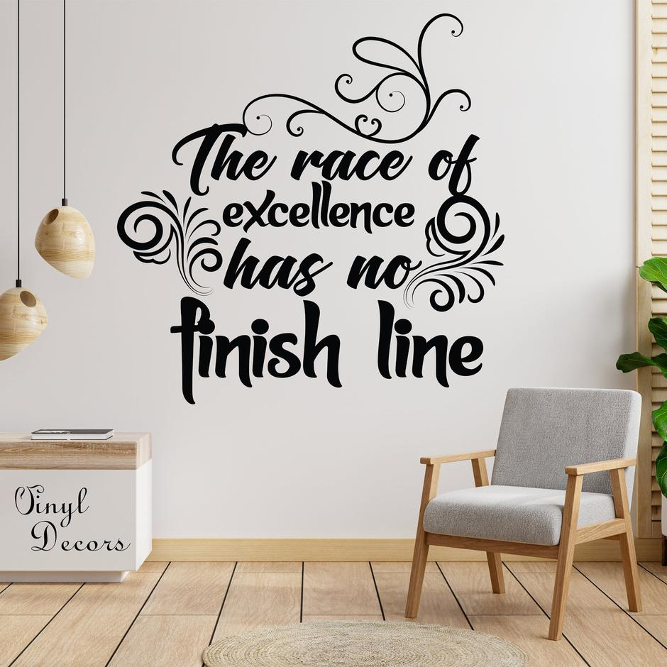 [Image] Excellence has no finish line
