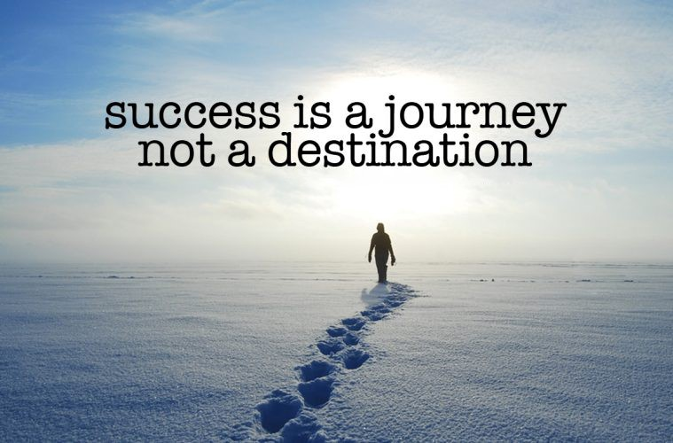 [IMAGE] It's the Journey that matters