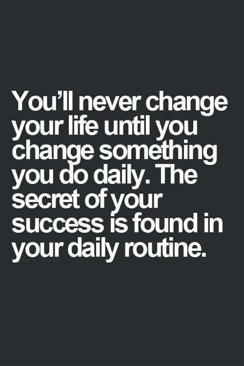 [Image] – Daily Routine