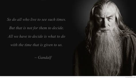 [Image] Advice for these times from Middle Earth