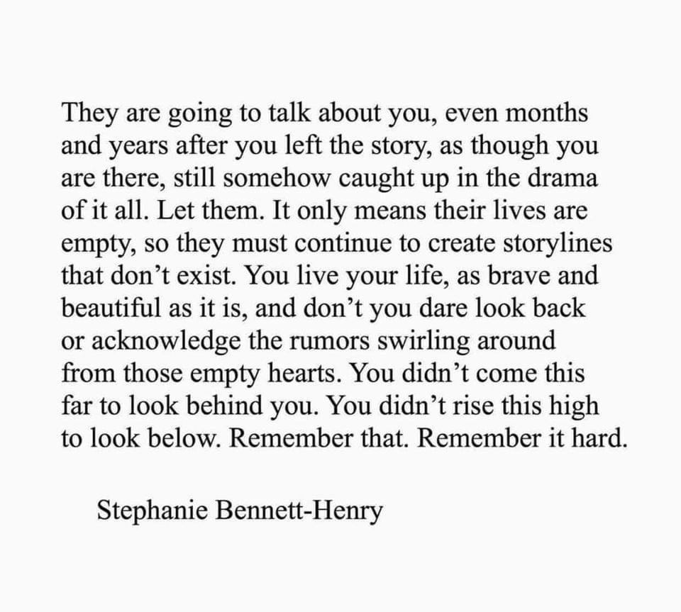 [Image] Your life is your own story to tell, Remember That!?