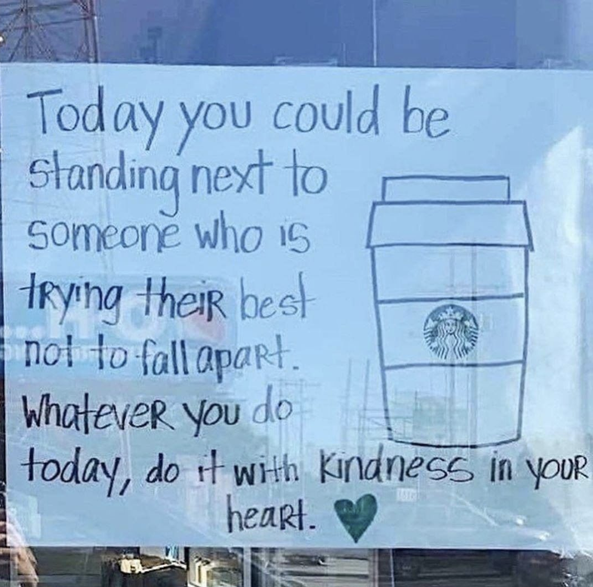 [Image] Make kindness your lifestyle.