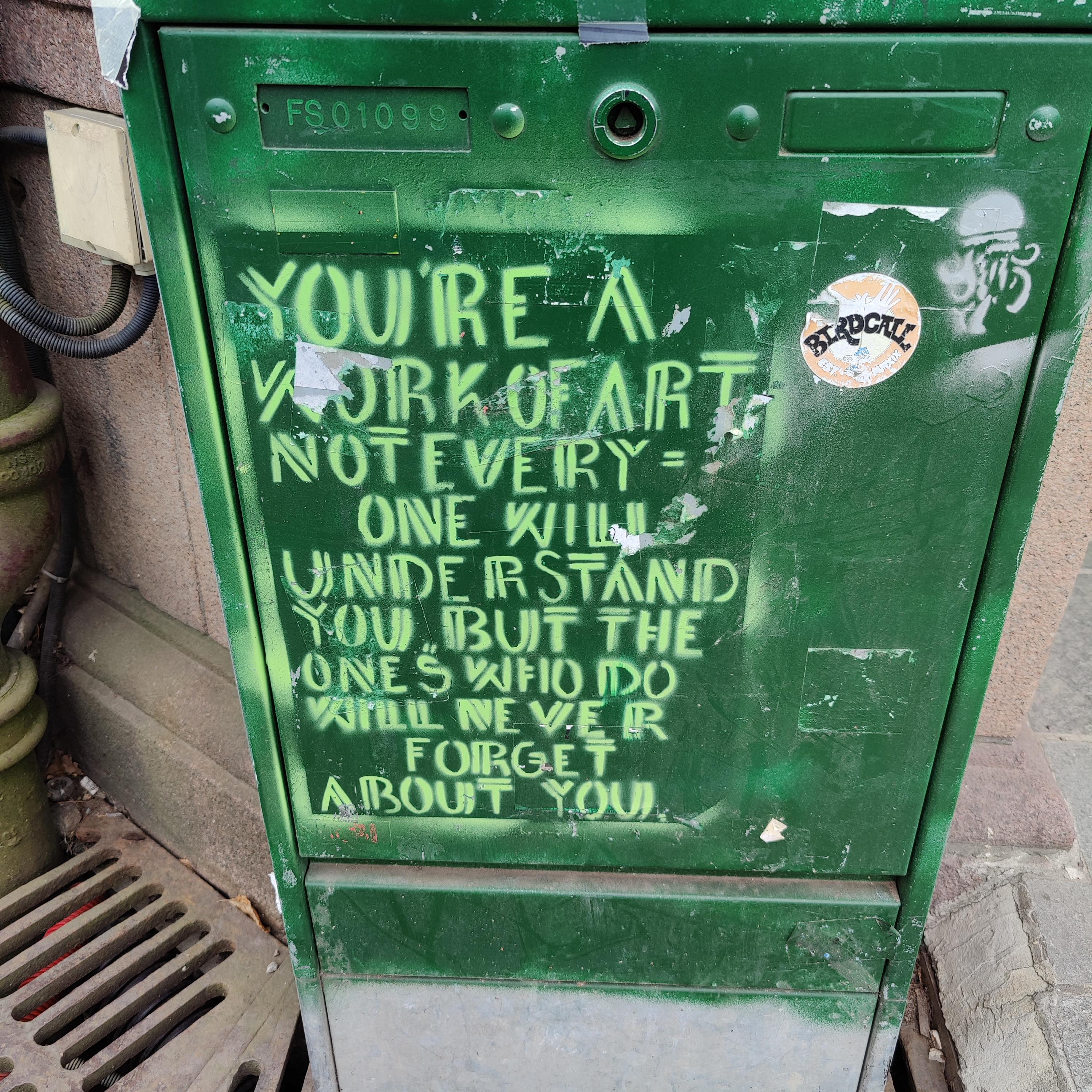 [Image] You're a work of art