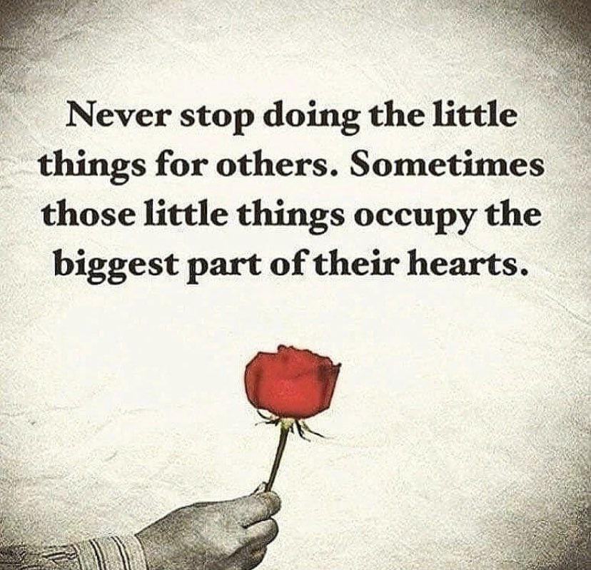 [IMAGE] The little things.