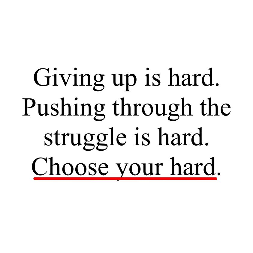 [Image] If it's easy for you to give up – maybe the things you try to achieve are not Meaningful enough. Think – what is the COST of not achieving them, but staying the same? Give your goals MEANING! 👍