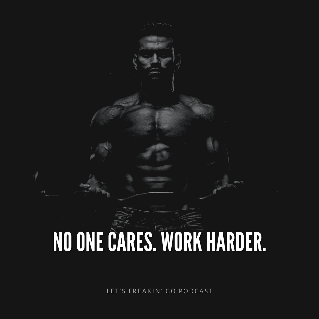 Prove them wrong with your results, not your words. [image]