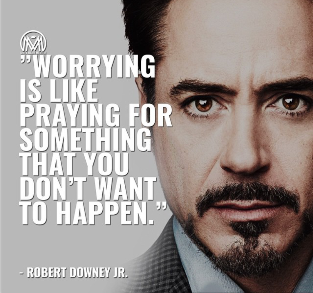 [Image] Ironman says to stop worrying.