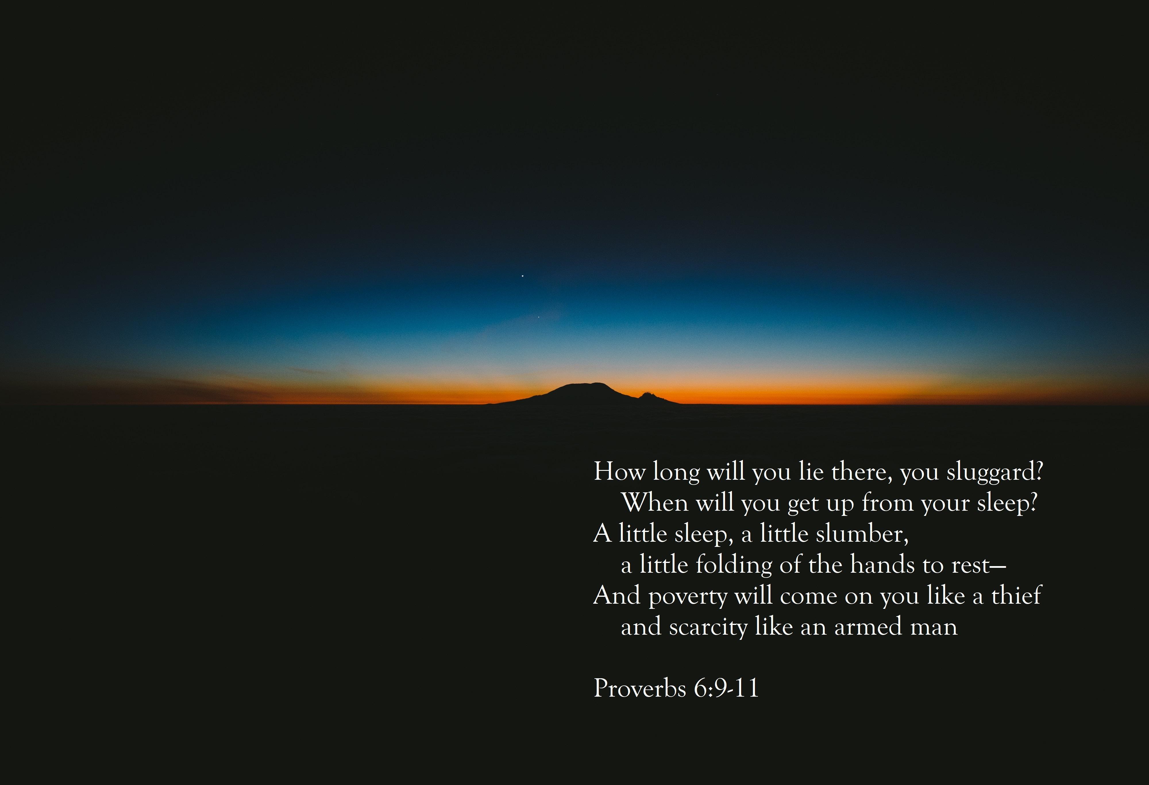 [Image] How long will you lie there?