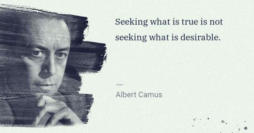 Seeking What Is True Is Not Seeking What Is Desirable. https://inspirational.ly