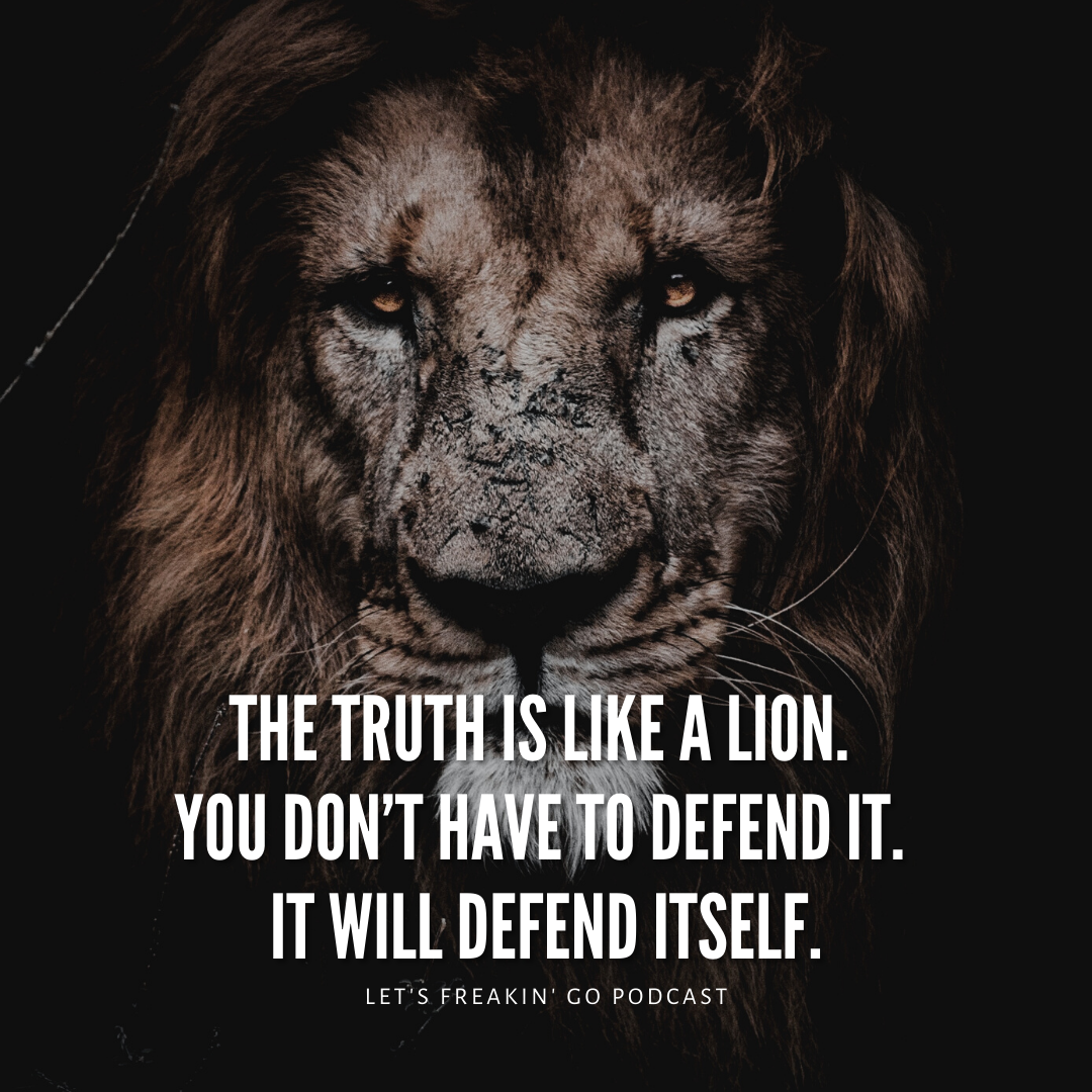L DEFEND ITSELF. LET'S FREAKIN' CO PODCAST https://inspirational.ly